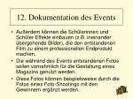 12 dokumentation des events95