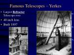 famous telescopes yerkes