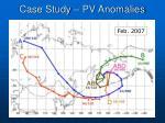 case study pv anomalies