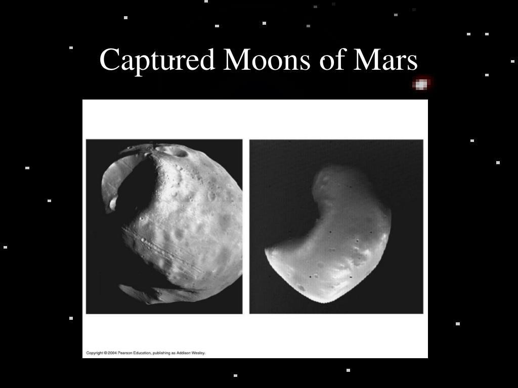 Captured Moons of Mars