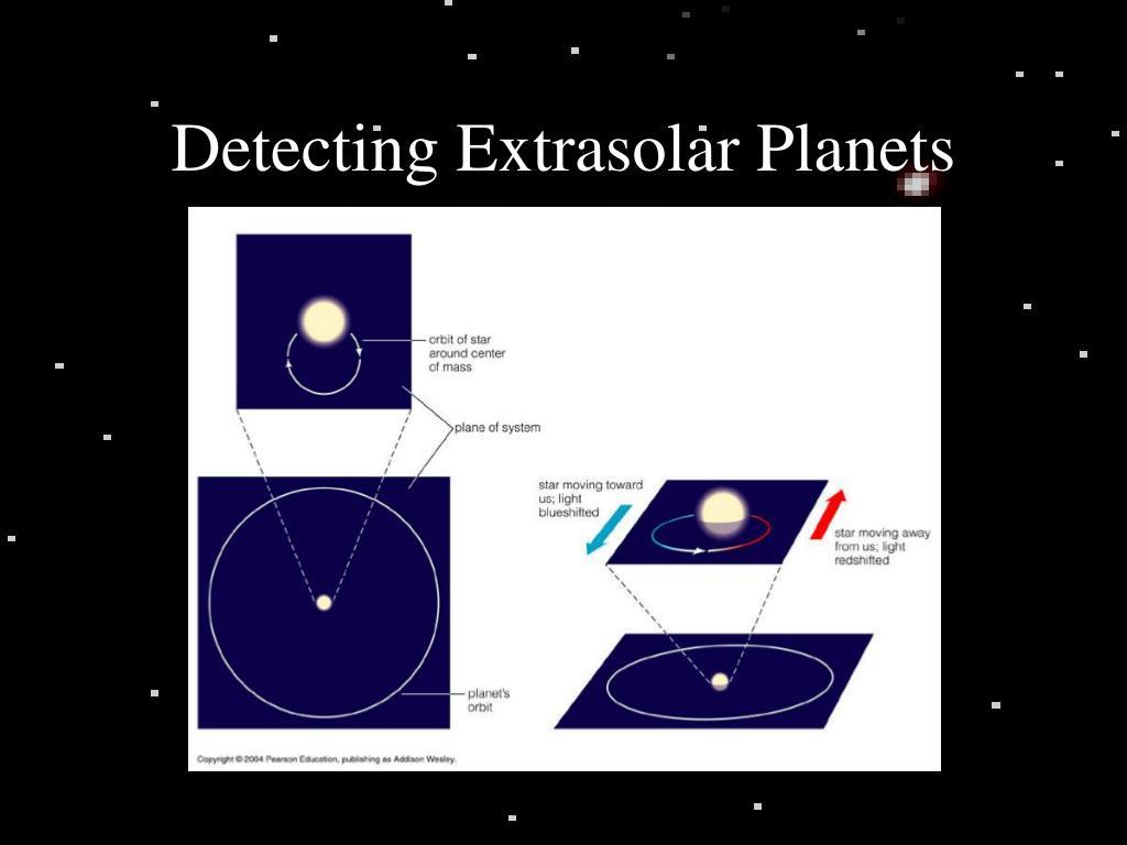 Detecting Extrasolar Planets