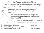 topic 1 a review of consumer theory9