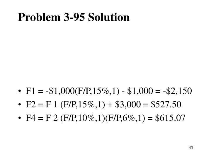 Problem 3-95 Solution