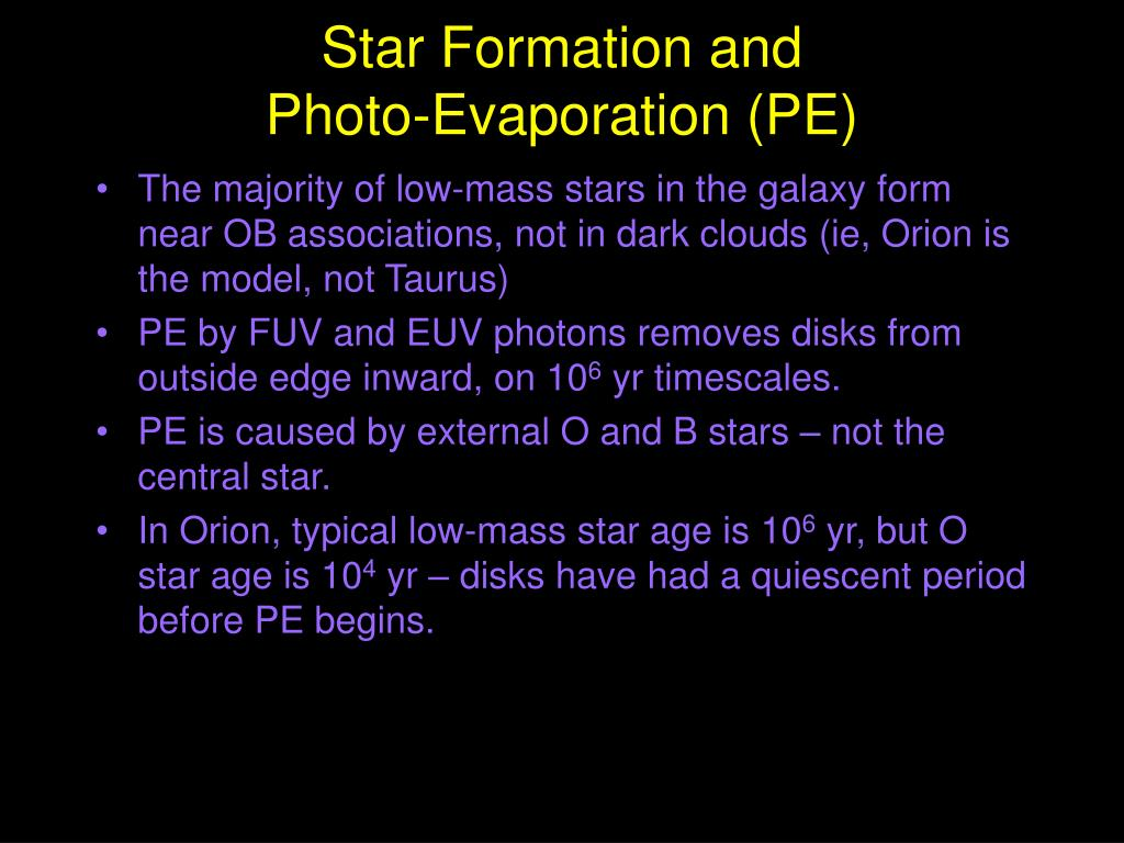 Star Formation and