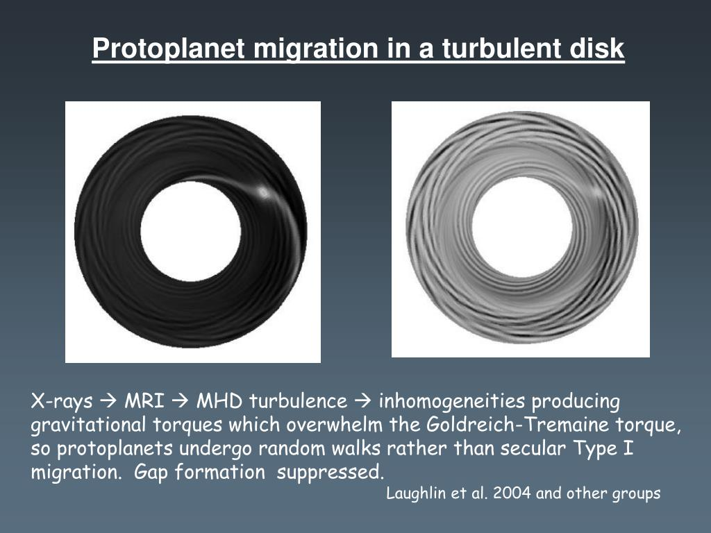 Protoplanet migration in a turbulent disk