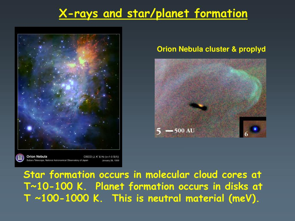 X-rays and star/planet formation