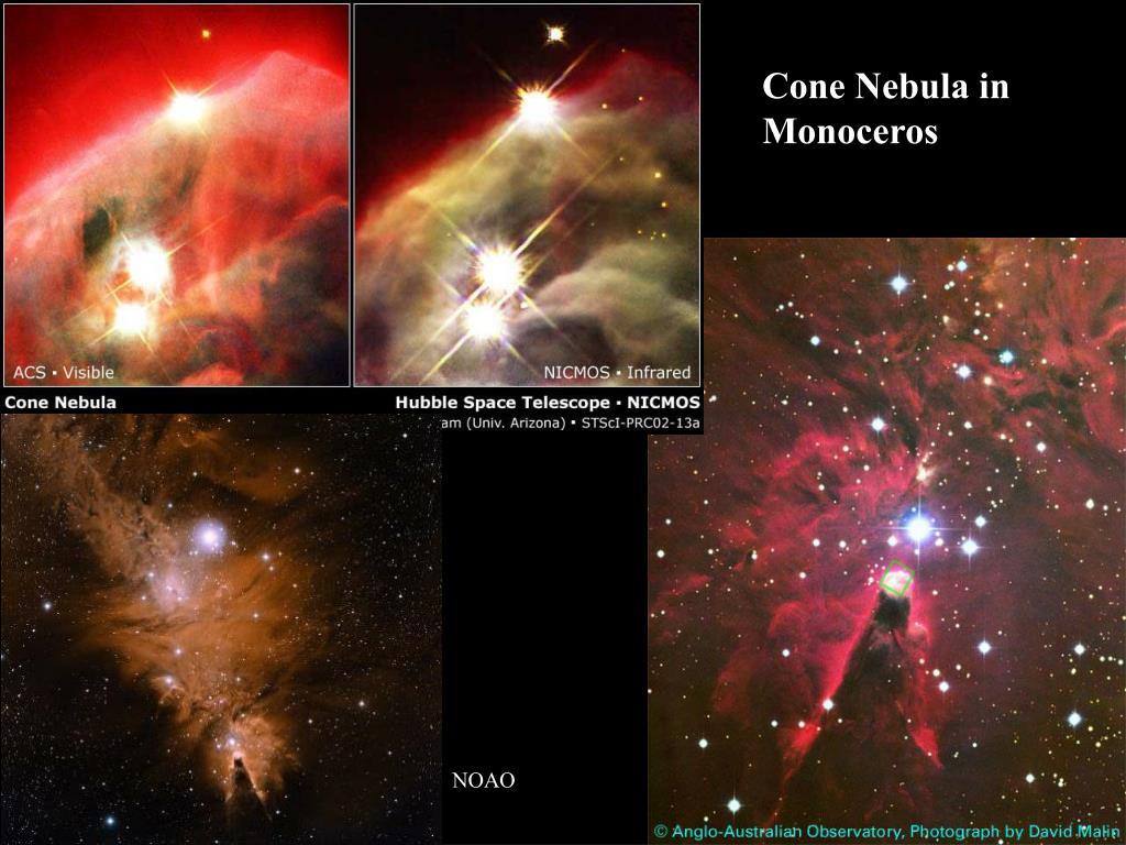 Cone Nebula in Monoceros