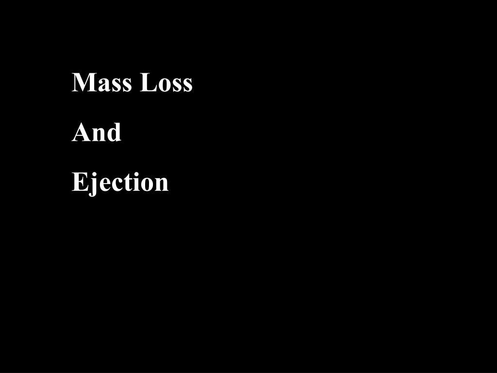 Mass Loss