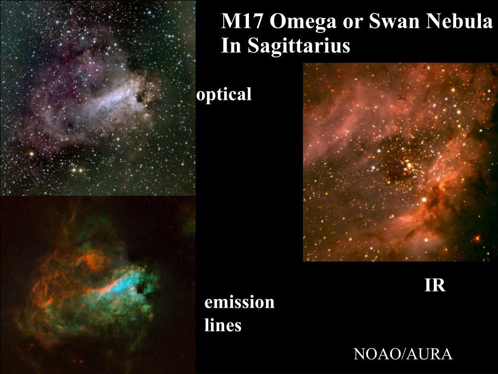 M17 Omega or Swan Nebula