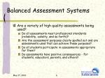 balanced assessment systems1