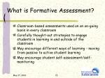 what is formative assessment