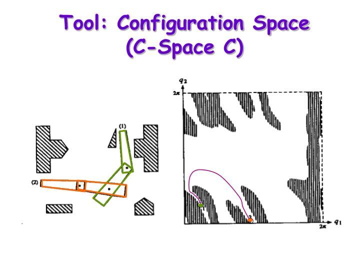 Tool configuration space c space c