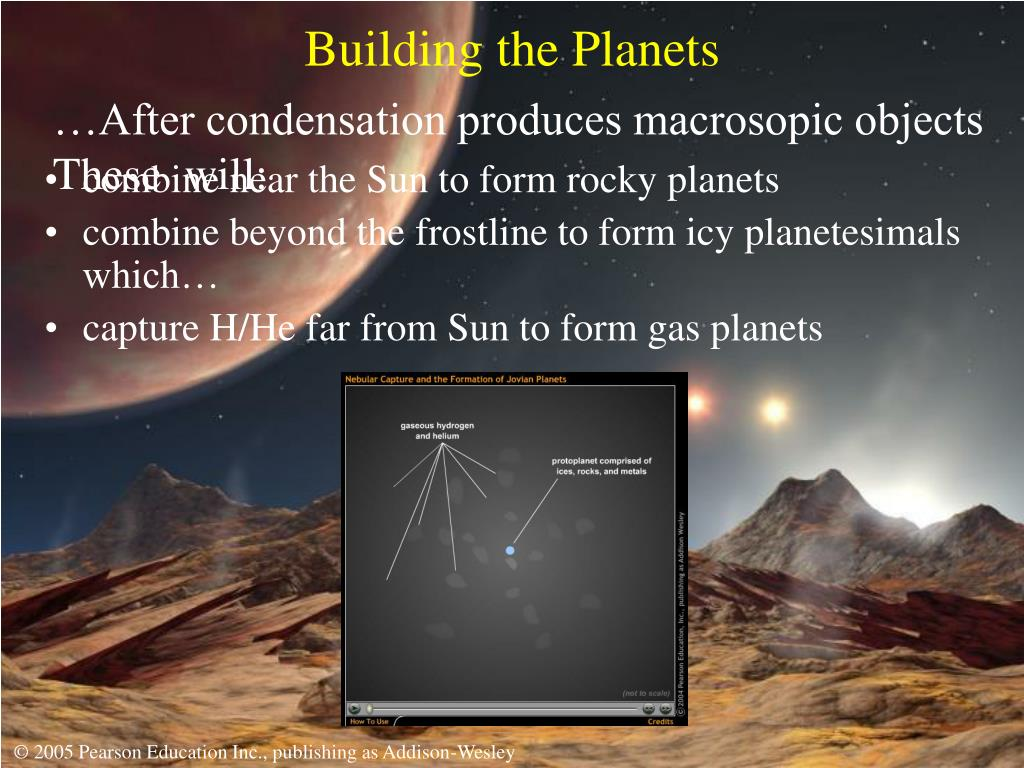 Building the Planets