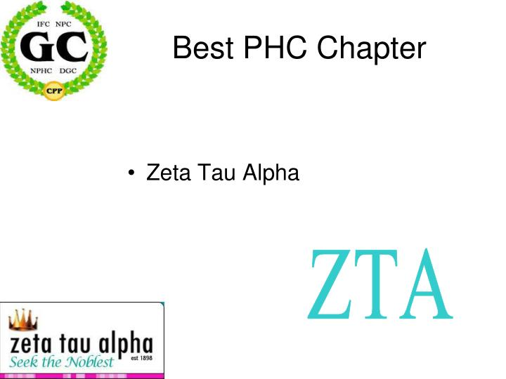 Best PHC Chapter