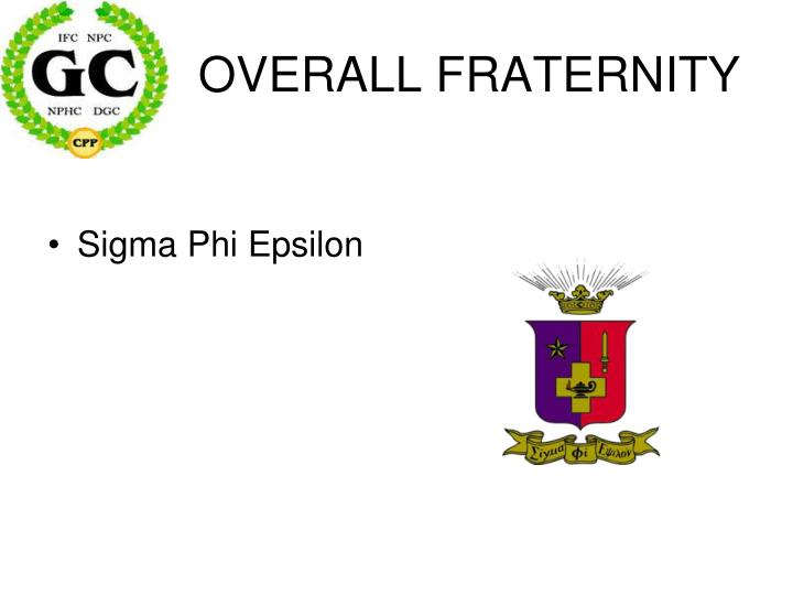 OVERALL FRATERNITY