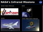 nasa s infrared missions