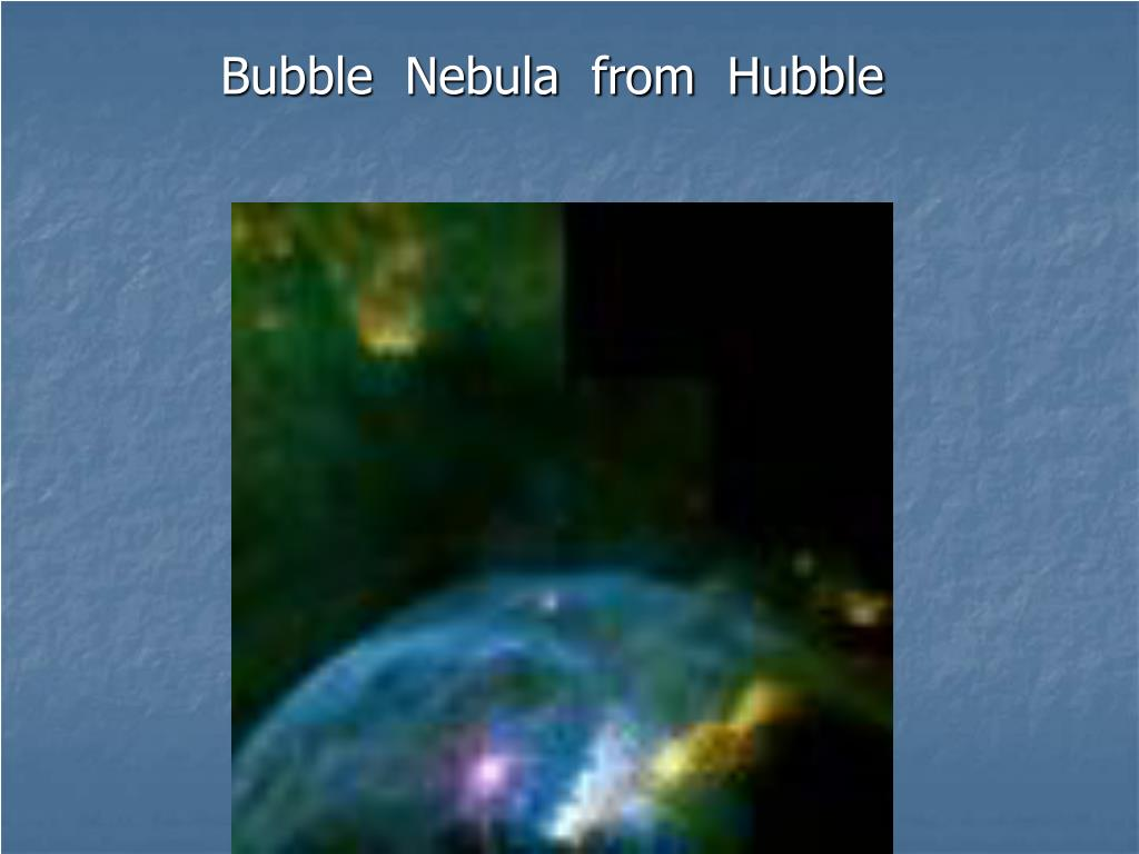 Bubble  Nebula  from  Hubble