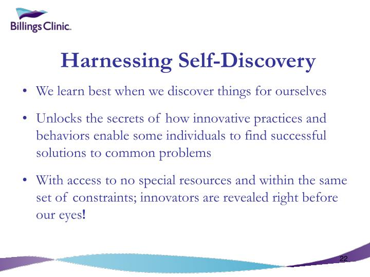 Harnessing Self-Discovery