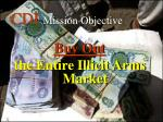cdi mission objective