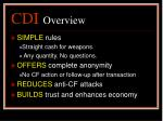 cdi overview21