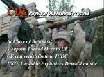 cdi physical operations process27