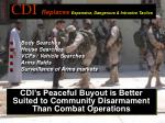 cdi replaces expensive dangerous intrusive tactics