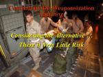 community de weaponsization initiative
