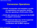 conversion operations1