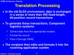 translation processing