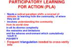 participatory learning for action pla