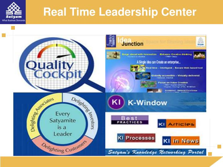 Real Time Leadership Center