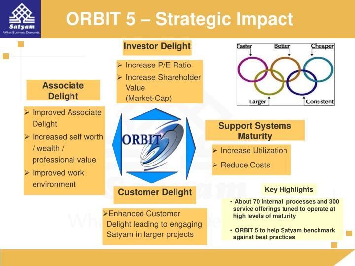 ORBIT 5 – Strategic Impact