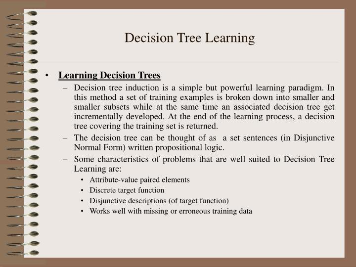 PPT - Decision Tree Learning PowerPoint Presentation - ID:826473
