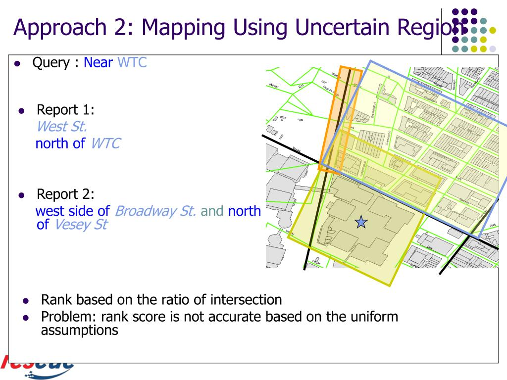 Approach 2: Mapping Using Uncertain Region