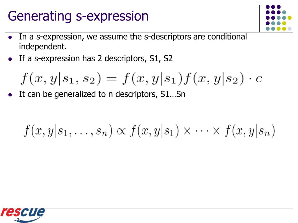 Generating s-expression