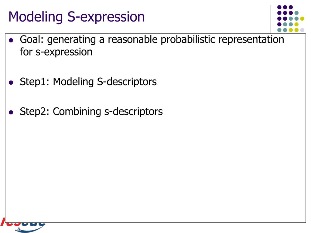 Modeling S-expression