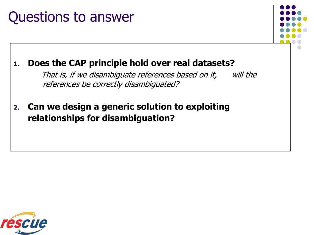 Does the CAP principle hold over real datasets?