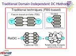 traditional domain independent dc methods