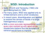 wsd introduction3