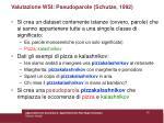 valutazione wsi pseudoparole schutze 199253