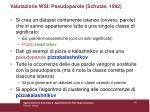 valutazione wsi pseudoparole schutze 199254