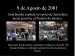 9 de agosto de 2001