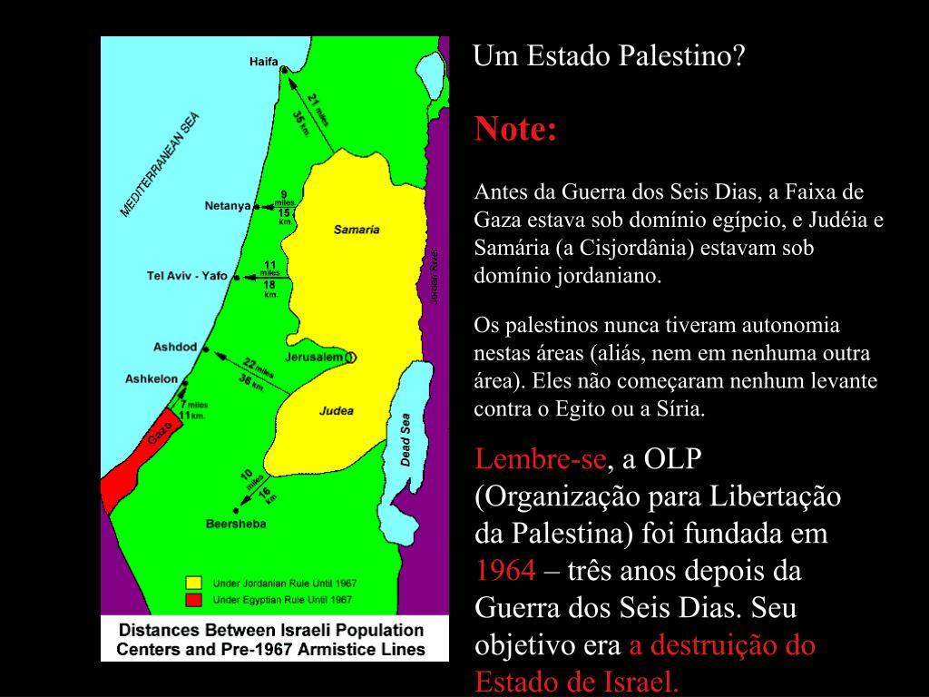 Um Estado Palestino?