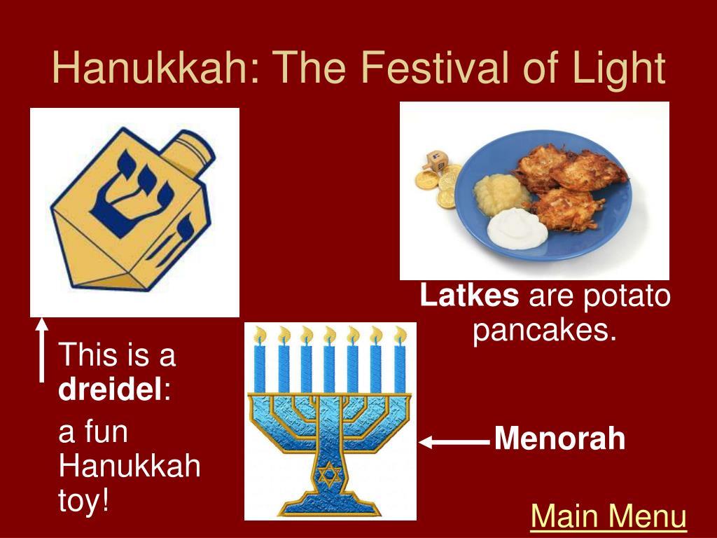 Hanukkah: The Festival of Light
