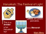 hanukkah the festival of light