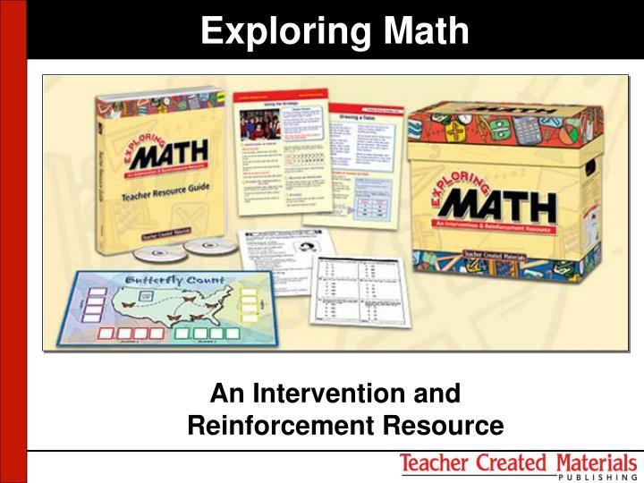 Exploring Math