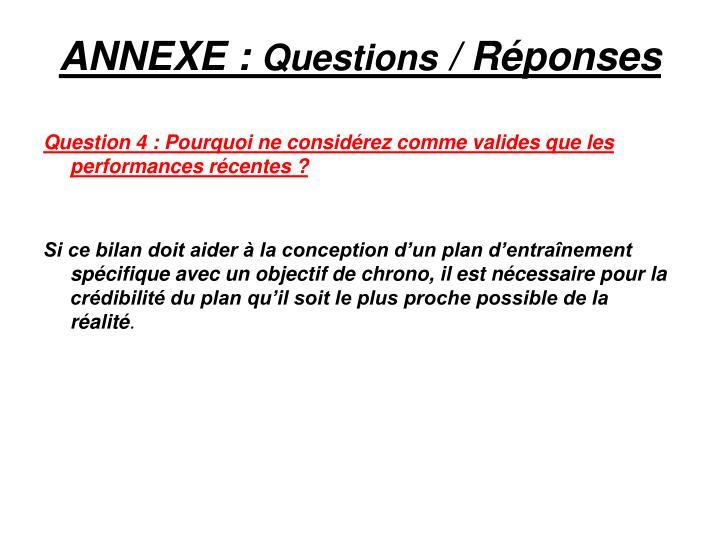 ANNEXE :