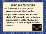 what is a menorah
