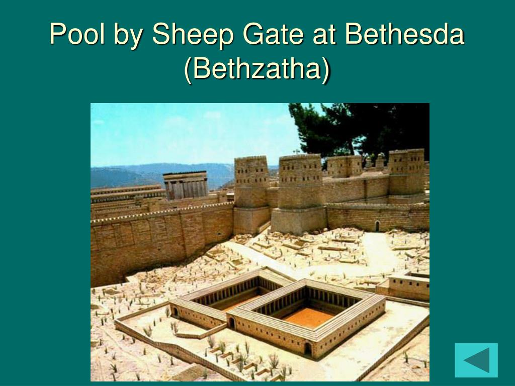 Pool by Sheep Gate at Bethesda (Bethzatha)