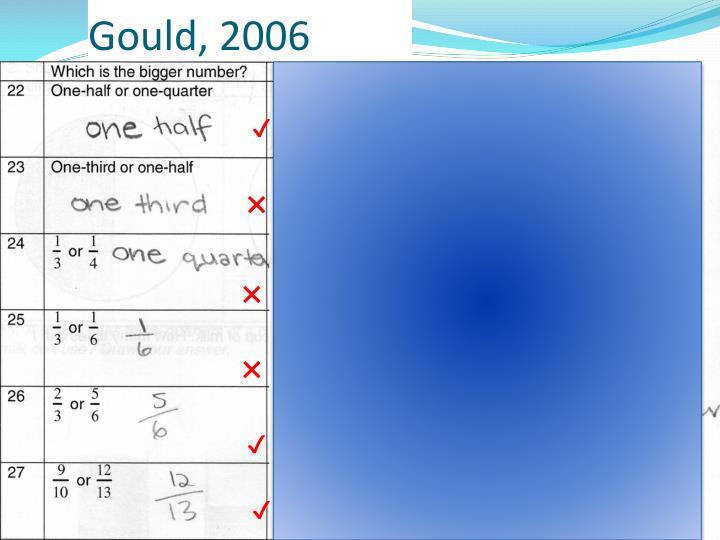 Gould, 2006